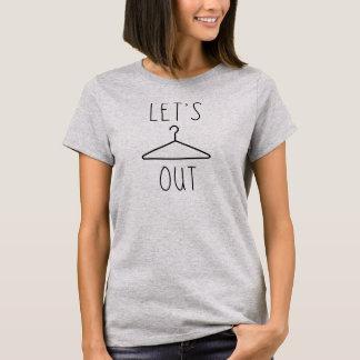 Laissez-nous traînant le T-shirt Tumblr