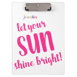Laissez votre éclat de Sun lumineux par le porte -