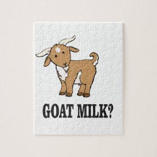lait de chèvre ? puzzle