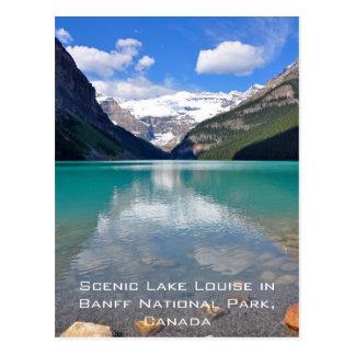 Lake Louise en parc national de Banff Carte Postale