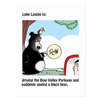 Lake Louise est : une carte de Graham Harrop