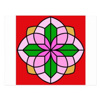 Lakshmi Lotus Carte Postale