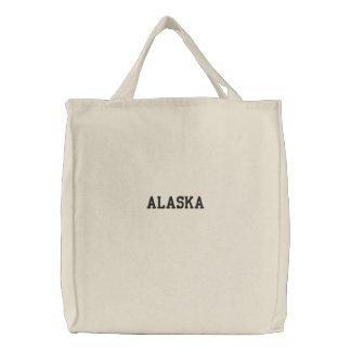 L'Alaska a brodé le sac fourre-tout organique