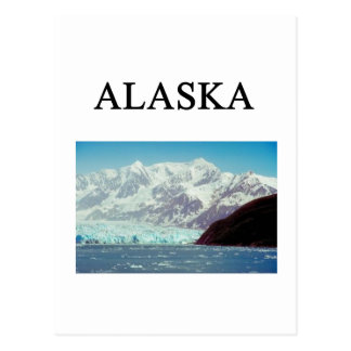 l'Alaska Carte Postale