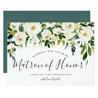 L'albâtre floral soit ma carte de dame de honneur