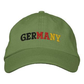 L'Allemagne Casquette Brodée
