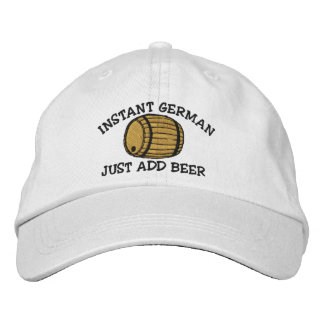 L'Allemand instantané ajoutent juste le casquette
