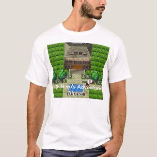 L'alpha de l'aventure du héros ! T-shirt !