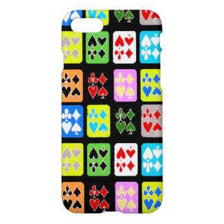L'amant de jeu de poker carde le coque iphone
