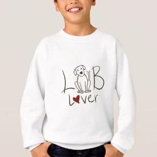 L'amant de laboratoire badine le sweatshirt
