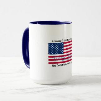 L'Amérique est la tasse de la constitution 1