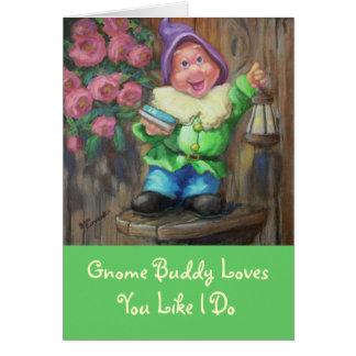 L'ami de gnome aime la carte