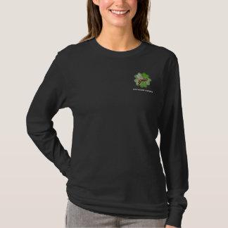 L'amitié fait du jardinage noir de sweat - shirt à