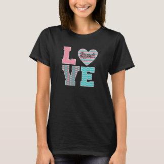 L'amour de professeur a expédié le T-shirt