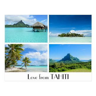 L'amour du Tahiti aménage la carte postale en parc