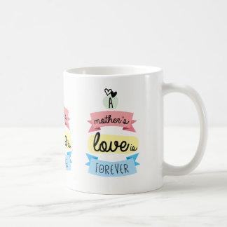L'amour d'une mère est pour toujours mug
