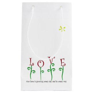 L'amour élève le sac