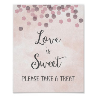 L'amour est copie douce d'affiche de mariage poster