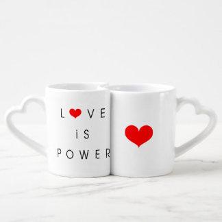 L'amour est tasse de puissance