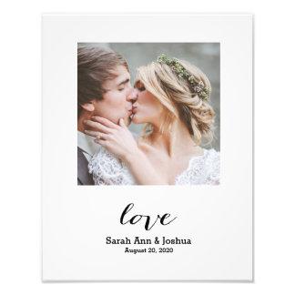 L'amour éternel | a personnalisé la copie de photo