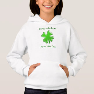 L'amour irlandais de papa badine la chemise