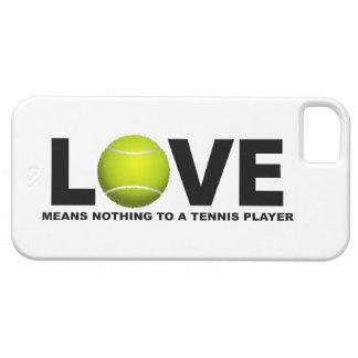 L'amour ne signifie rien à un iPhone 5 de joueur iPhone 5 Case