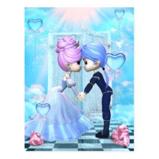 L'amoureux rêve la carte postale