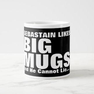 L'amusement personnalisé aime de grandes tasses et