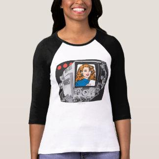 Lana Lang sur l'appareil-photo T-shirt