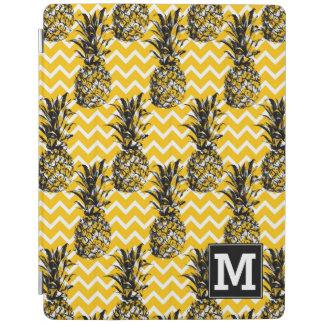 L'ananas zigzague monogramme de | protection iPad