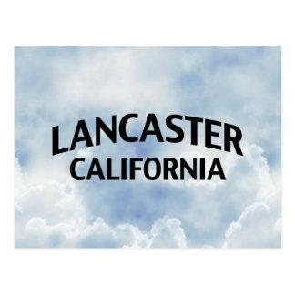 Lancaster la Californie Carte Postale