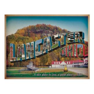 Lancaster Ohio #1 Carte Postale
