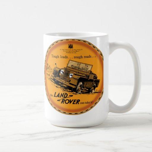 Land Rover dur Tasse À Café