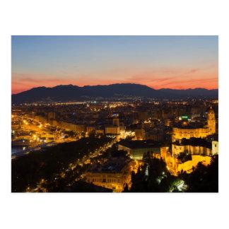 L'Andalousie - Malaga à la carte postale de