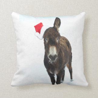 L'âne de Noël Coussin