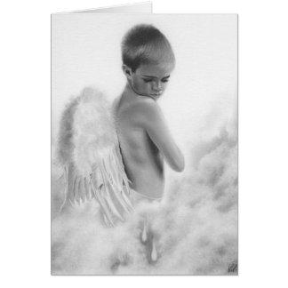 L'ange déchire la carte
