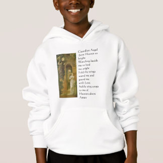 L'ange gardien badine le sweat - shirt à capuche
