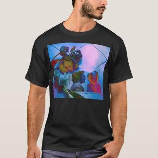 Langzaam verdwenen Tulpen & jaren '50 Mugshot T Shirt