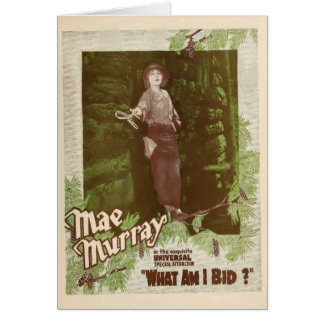 L'annonce 1919 d'exposant de Mae Murray ce qui Carte De Vœux
