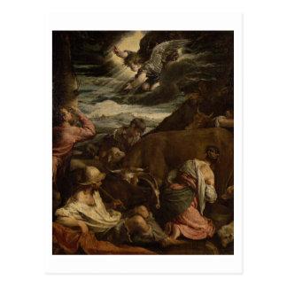 L'annonce aux bergers, c.1557-8 carte postale