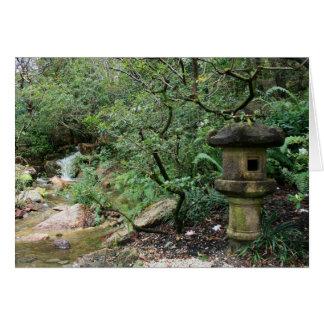 Lanterne de contemplation carte