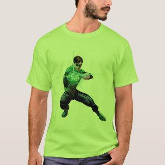 Lanterne verte et anneau rougeoyant t-shirt