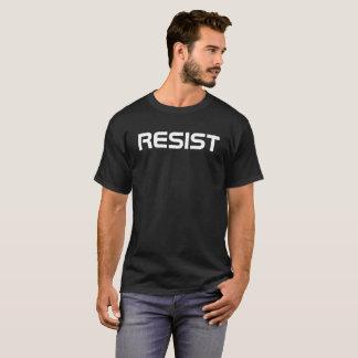 l'anti atout résistent au blanc de noir de T-shirt