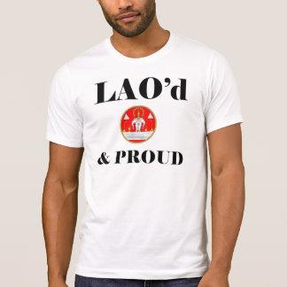 LAO'd et T-shirt détruit FIER