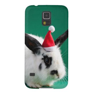 Lapin dans le casquette de Noël Protections Galaxy S5
