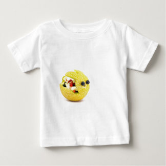 Lapin de Pâques de melon rempli de fruit d'été T-shirt Pour Bébé