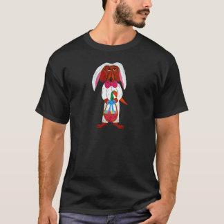 Lapin de Pâques de teckel T-shirt