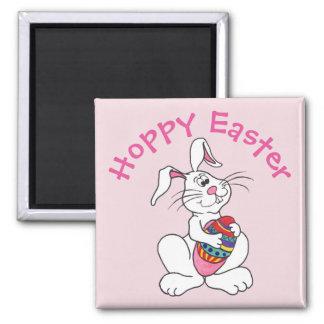 Lapin de Pâques et oeuf - aimant personnalisable