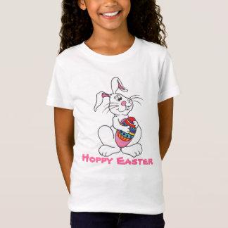 Lapin de Pâques et oeuf drôles - T-shirt