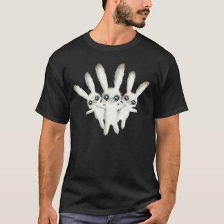 Lapins bourrés mignons t-shirt